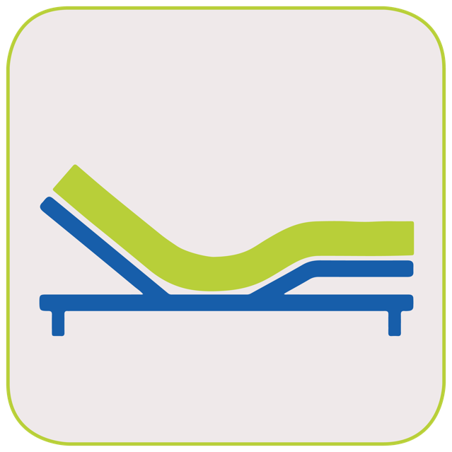 adjustable bed icon